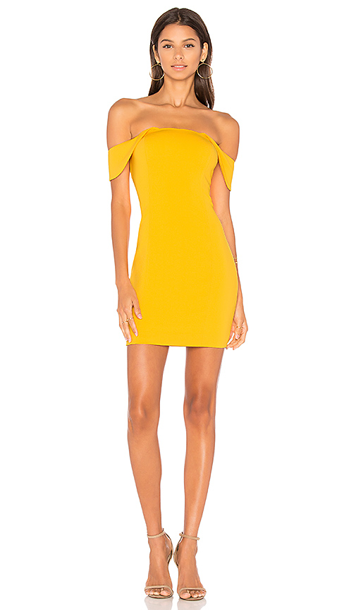 Jay Godfrey Lang Dress in Yellow