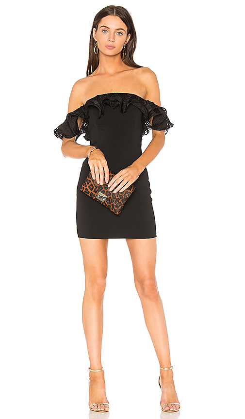 Jay Godfrey Rosebery Dress in Black