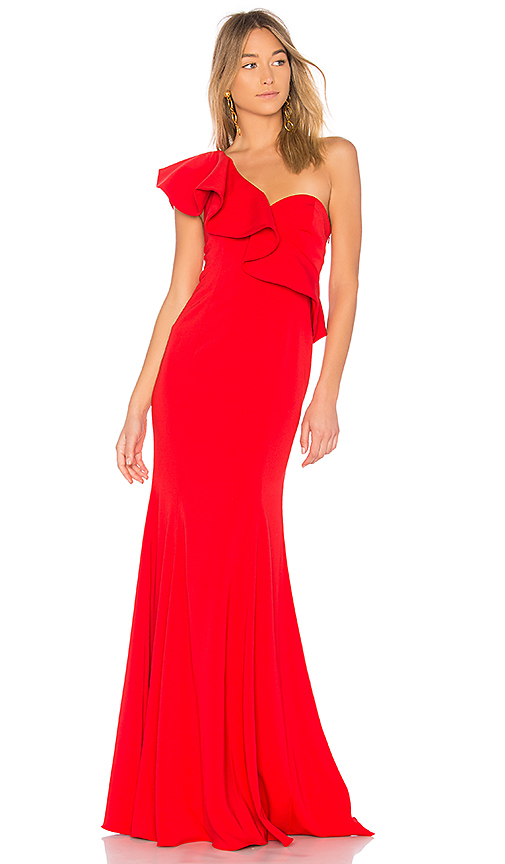 Jay Godfrey x REVOLVE Bolt Gown in Red