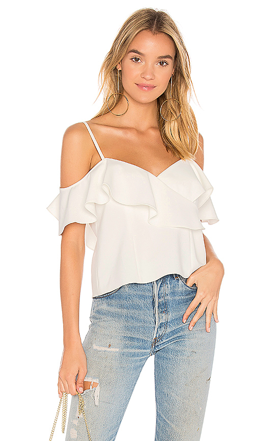 Jay Godfrey Lalime Top in Ivory
