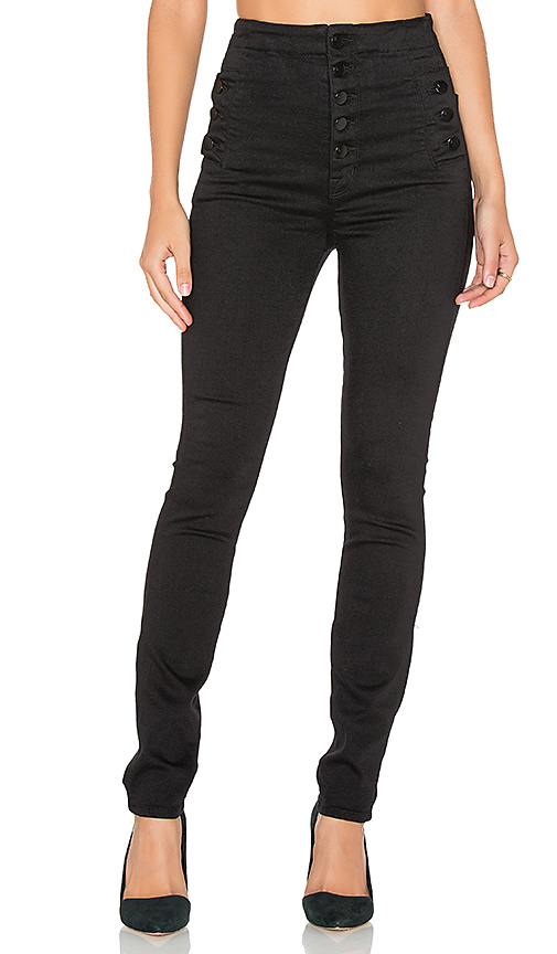 Colored Denim Brand Daily Ritual Womens Mid-Rise Skinny Jean