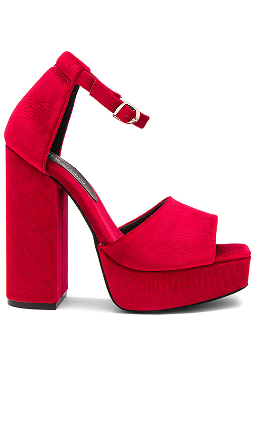Jeffrey Campbell Mika Heel in Red