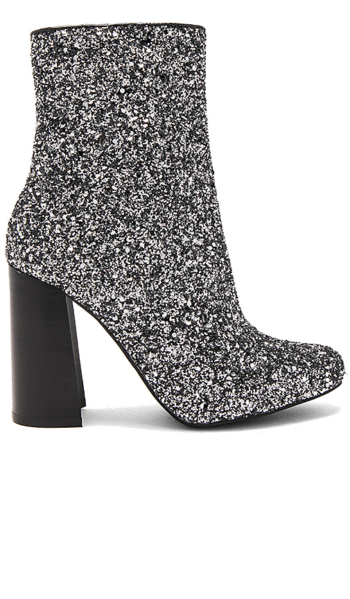 Jeffrey Campbell Stratford 3 Booties in Metallic Silver