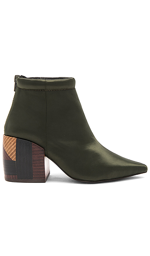 Jeffrey Campbell x REVOLVE Truly Bootie in Olive