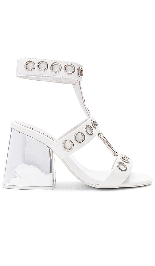 Photo of Jeffrey Campbell Bianka Heel in White - shop Jeffrey Campbell shoes sales