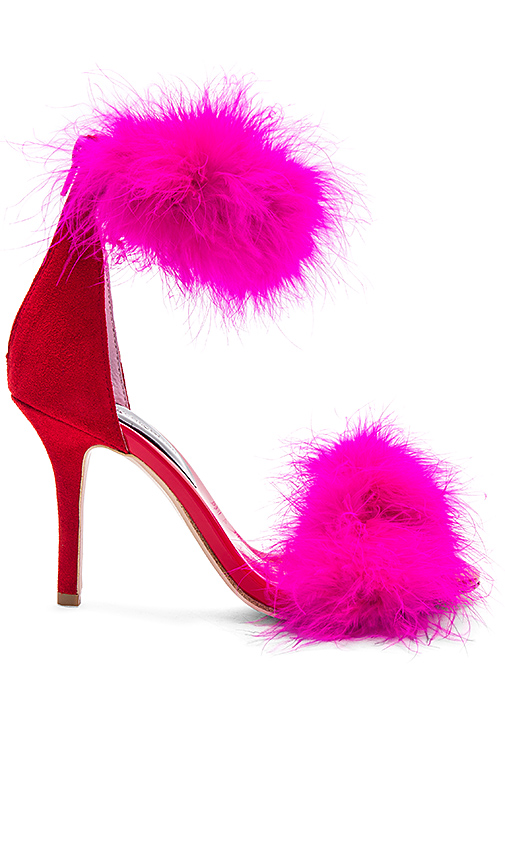 Jeffrey Campbell Inaba Feather Heel in Red