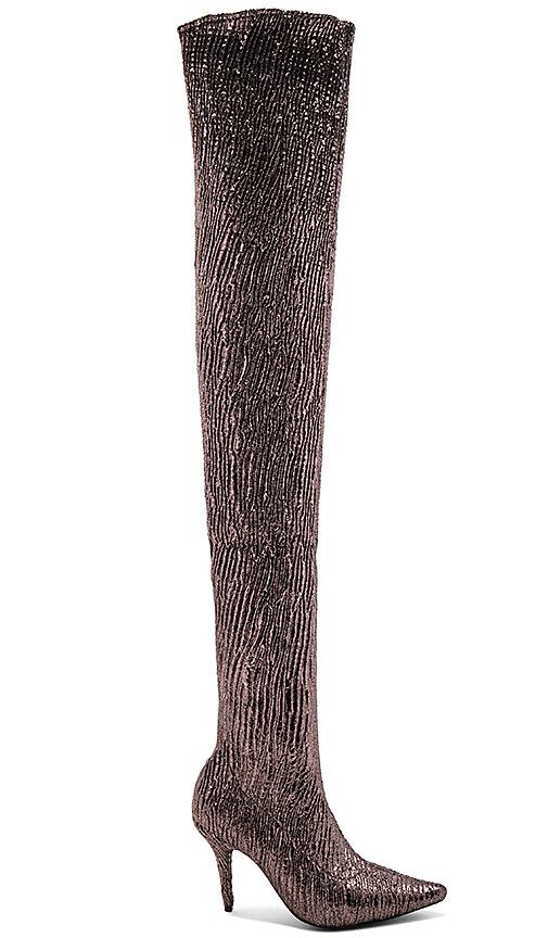 Jeffrey Campbell Gamora Boot in Metallic Bronze