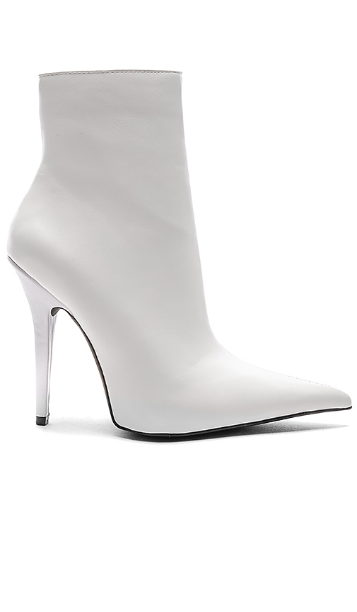 Jeffrey Campbell Vedette Bootie in White