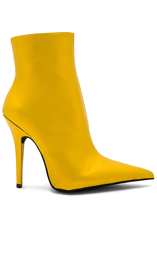 Jeffrey Campbell Vedette Bootie in Yellow