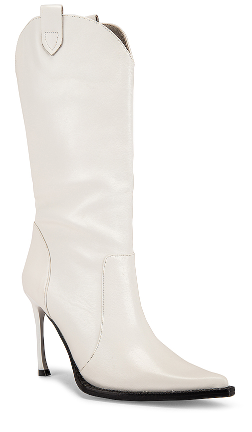 Jeffrey Campbell Cognitive Boot in White