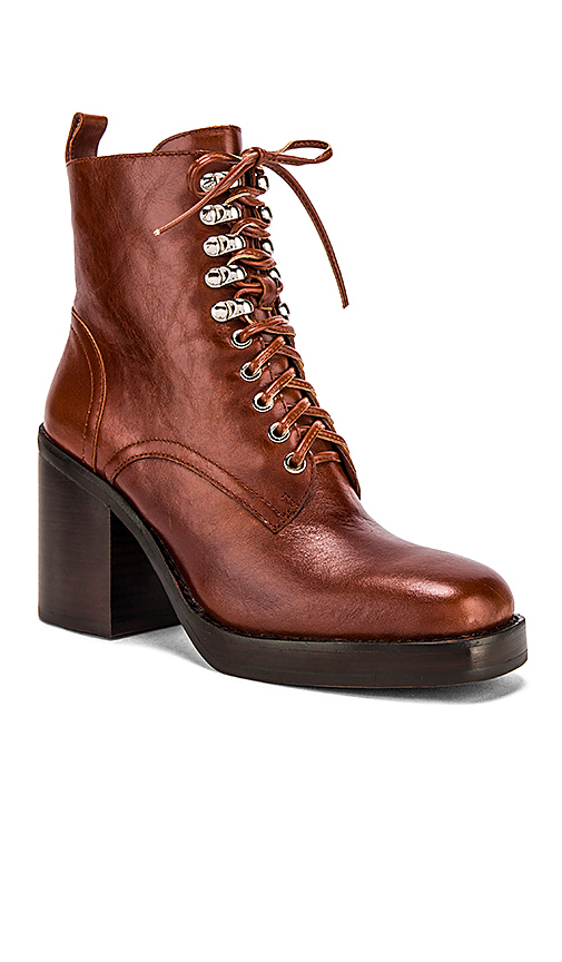 Jeffrey Campbell Dotti Bootie in Brown