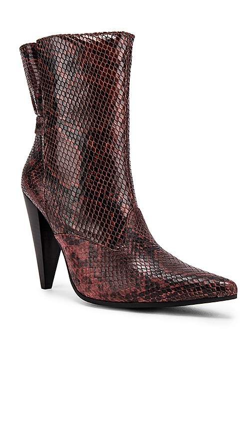 Jeffrey Campbell Spliced Boot in Brown