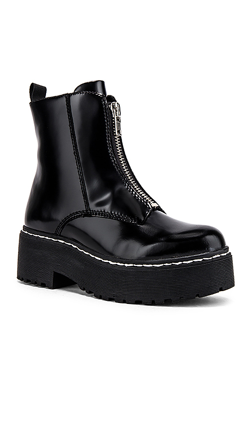 Jeffrey Campbell Zippd Boots in Black