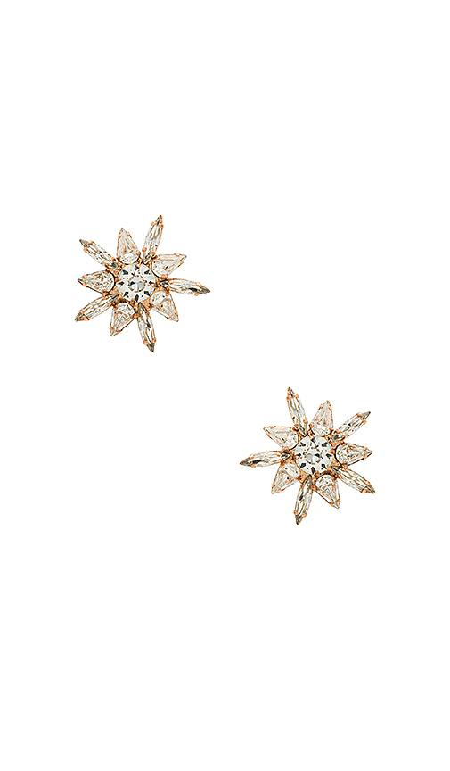 Jennifer Behr Eva Earrings in Metallic Copper