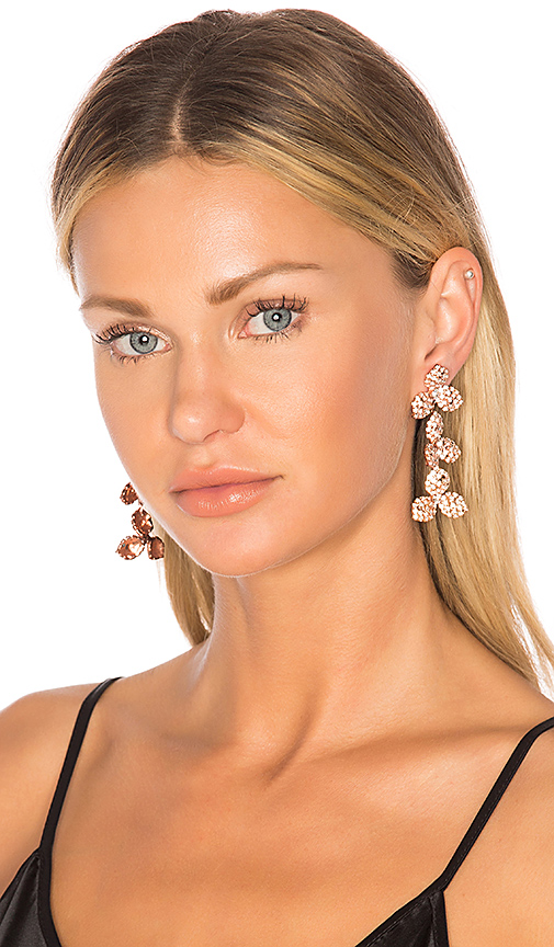 Jennifer Behr Chantal Dangle Earring in Metallic Copper