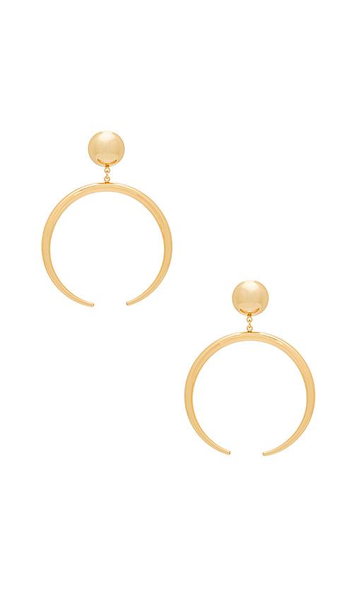 Jenny Bird The Factory Earrings in Metallic Gold