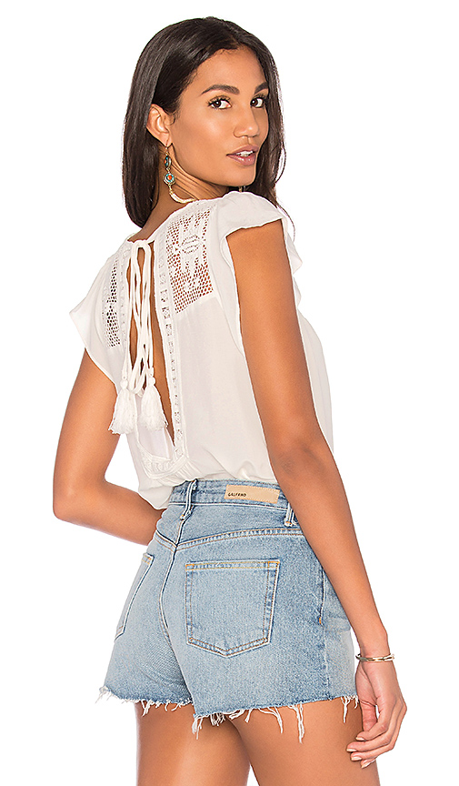 Jen's Pirate Booty Catarina Top in White