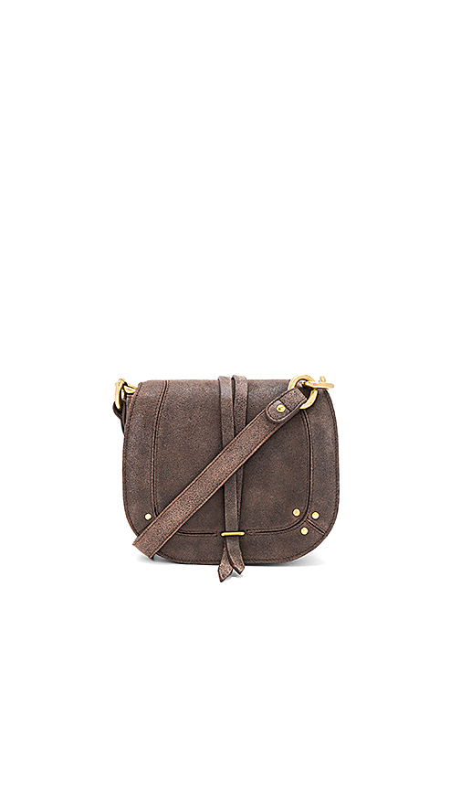 Jerome Dreyfuss Victor Saddle Bag in Brown