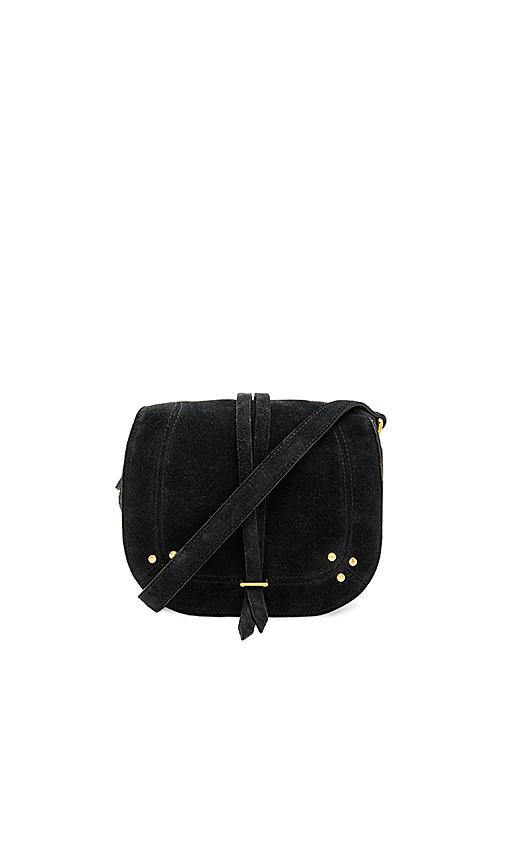 Jerome Dreyfuss Victor Saddle Bag in Black.