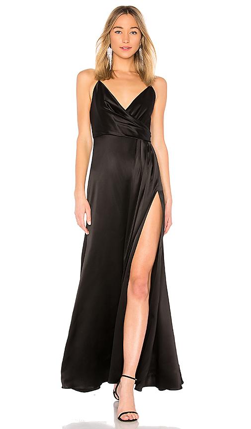 JILL JILL STUART Slip Gown in Black. - size 6 (also in 4,0,2)