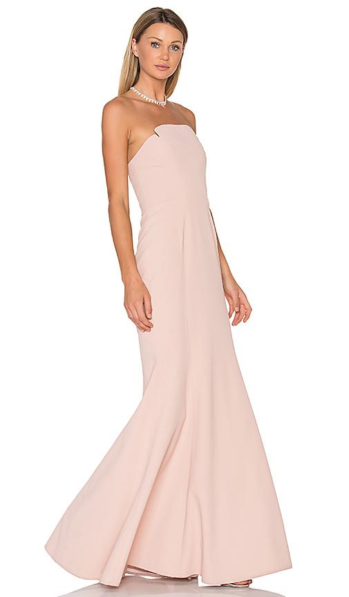 JILL JILL STUART Strapless Gown in Blush