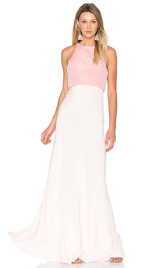 JILL JILL STUART Two Tone Gown in Pink