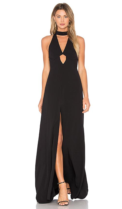 JILL JILL STUART High Neck Gown in Black
