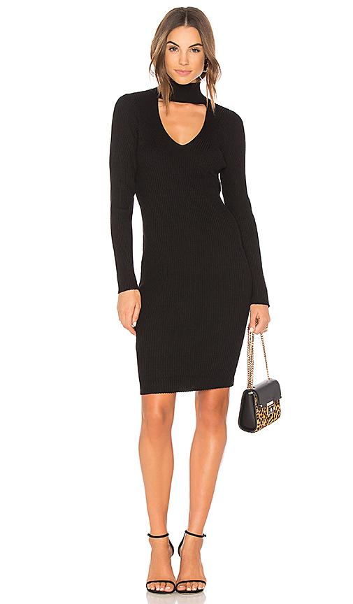 John & Jenn by Line Ophelia Sweater Dress in Black