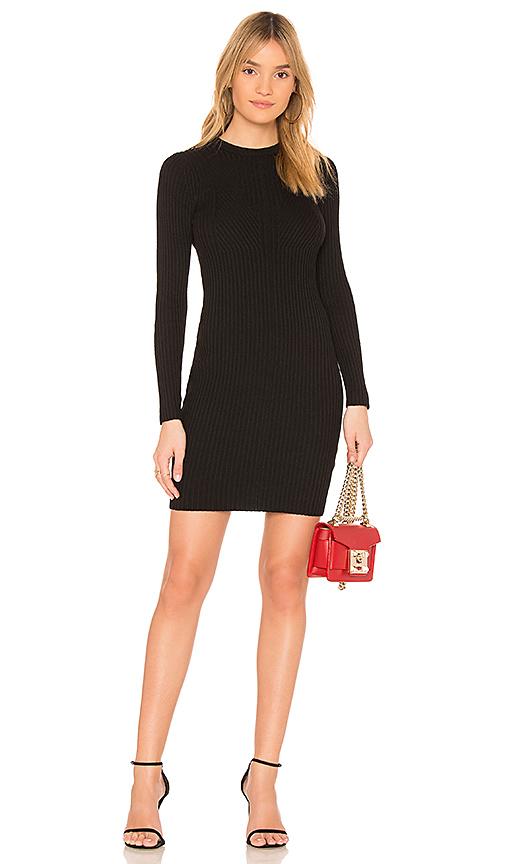 John & Jenn by Line Audrey Sweater Dress in Black