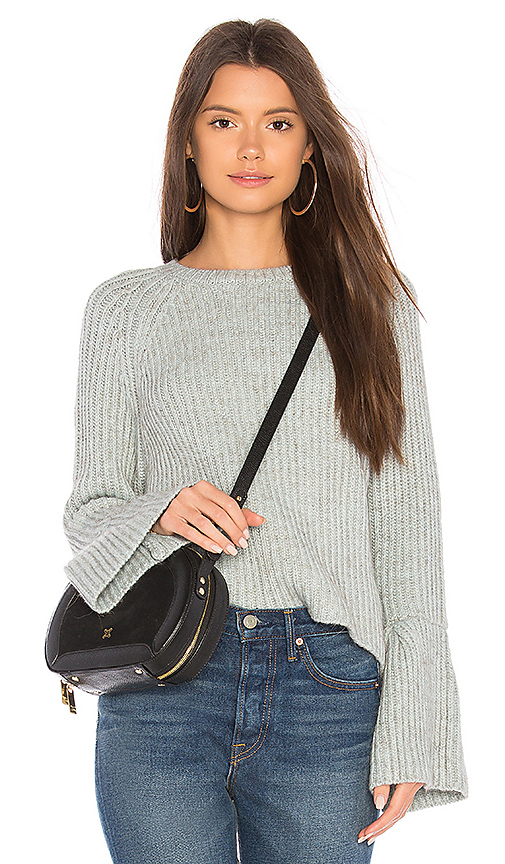 John & Jenn by Line Marlee Sweater in Gray. - size L (also in M,S,XS)