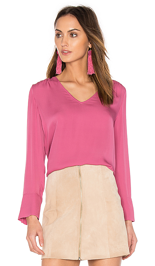 Joie Theda Blouse in Fuchsia. - size S (also in XS)