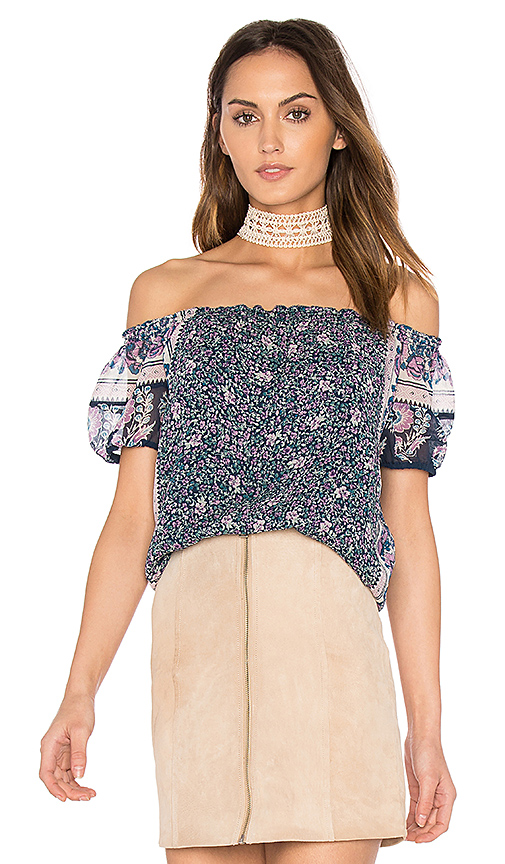 Joie Tinashe Top in Navy