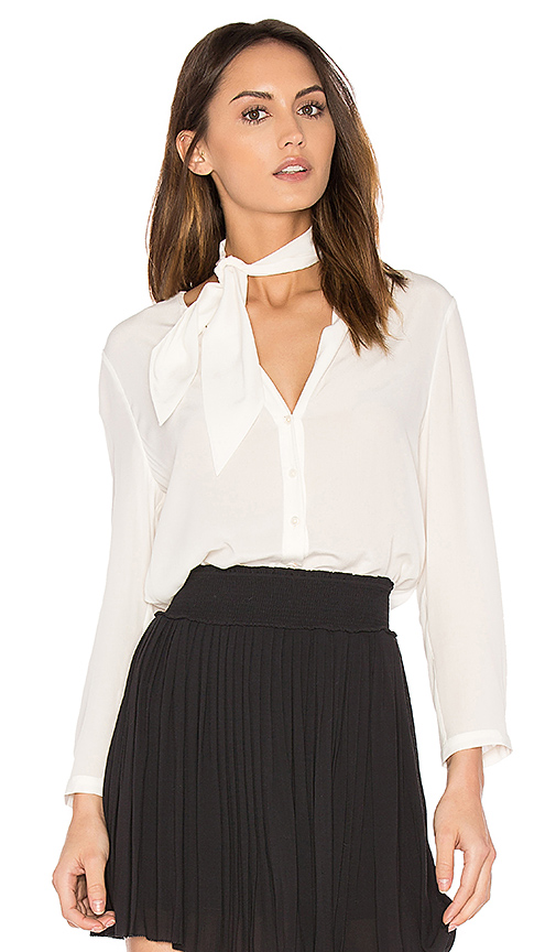 Joie Nile Button Up in White