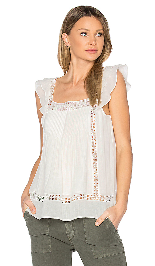 Joie Nels Tank in White