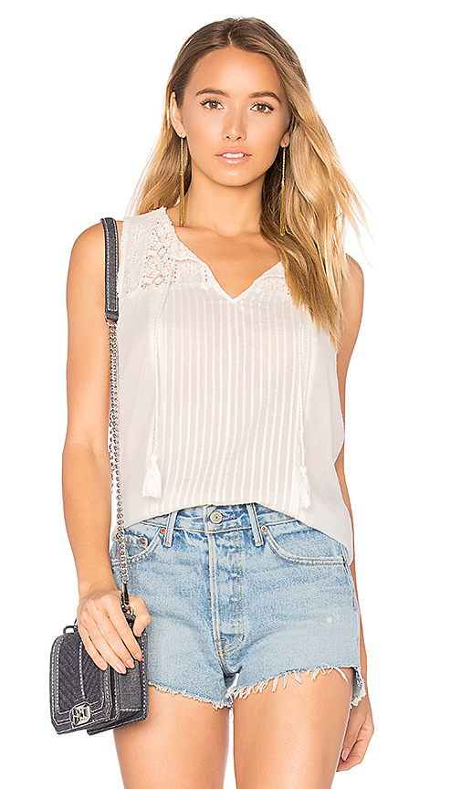 Photo of Joie Alasdair Tank in Ivory - shop Joie tops sales