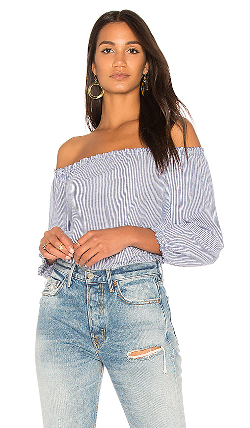 Joie Bamboo Top in Blue