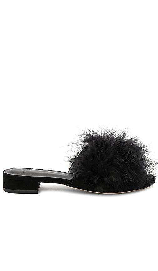 Joie Mani Feather Slide in Black