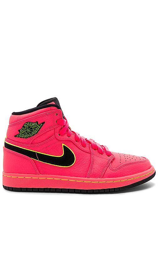 JORDAN | Jordan Air Jordan 1 Retro Prem In Pink. - Size 9 (Also In 7,7.5,5,8.5) | Goxip