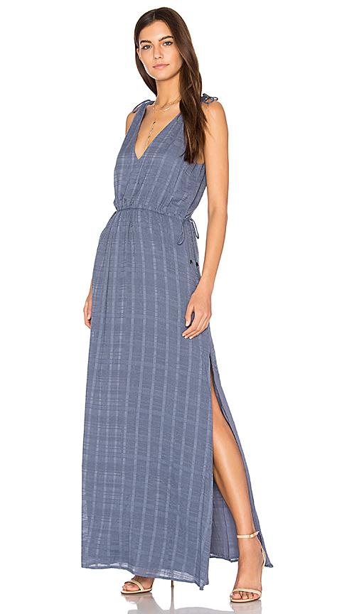 THE JETSET DIARIES Destination Maxi Dress in Blue