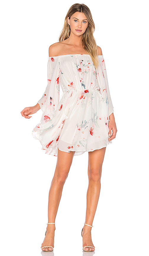 THE JETSET DIARIES Isabella Mini Dress in White
