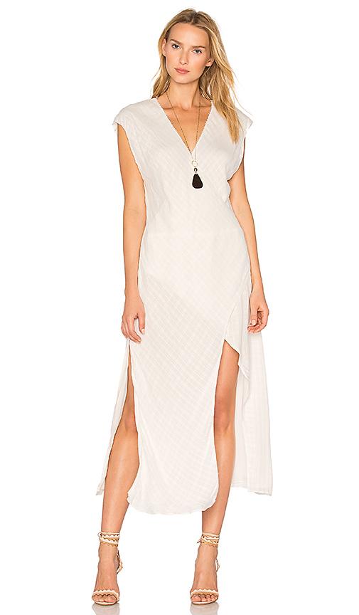 THE JETSET DIARIES Iris Dress in Ivory