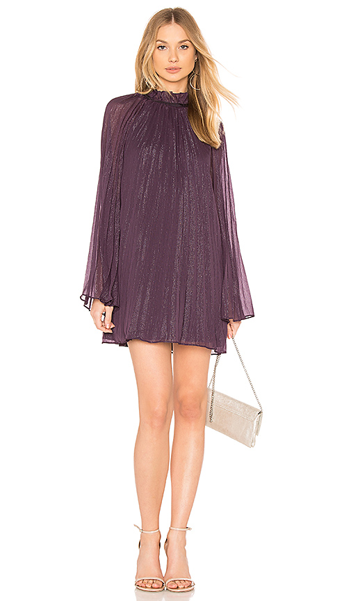 THE JETSET DIARIES Shiva Mini Dress in Purple