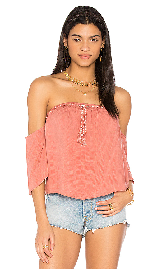 THE JETSET DIARIES Impala Top in Pink
