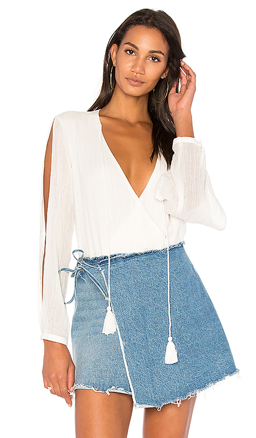 THE JETSET DIARIES Cape Town Bodysuit in White