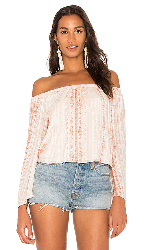 THE JETSET DIARIES Halcyon Top in Pink