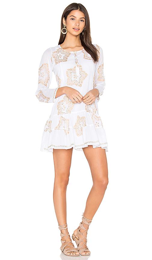 juliet dunn Starflower Beach Dress in White. - size 1/S (also in 2/M,3/L)