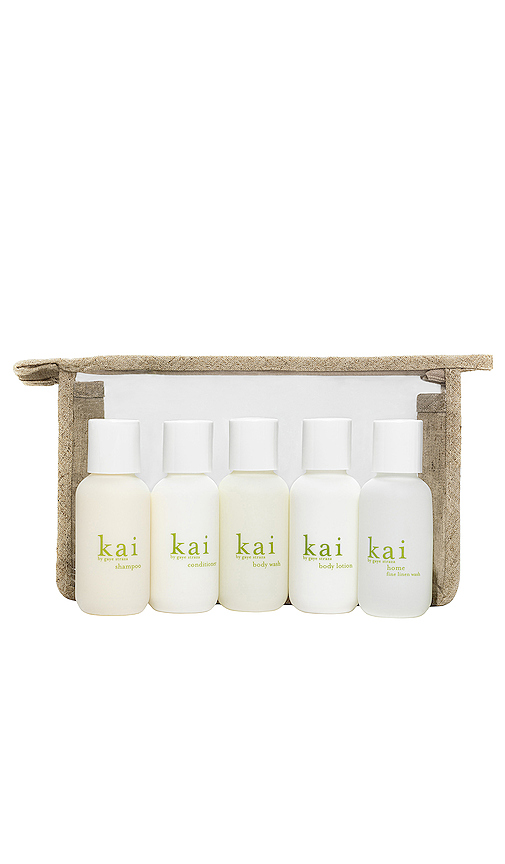 kai Travel Set in Neutral.