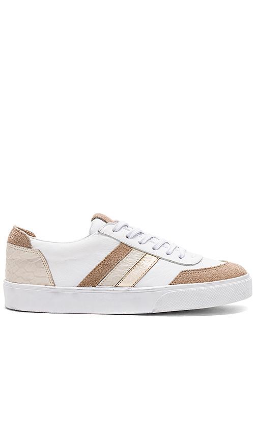 Kaanas Colorado Contrast Stripe Sneaker in Tan
