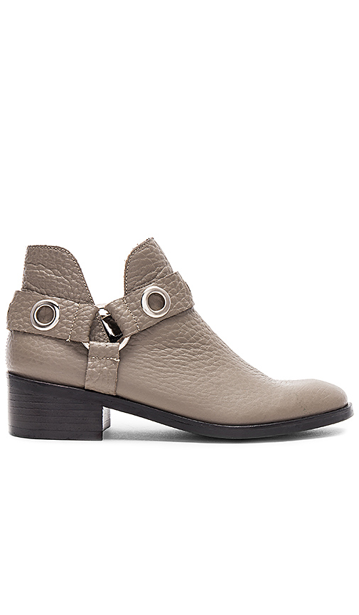 Kaanas Morelia Open Ankle Bootie in Taupe
