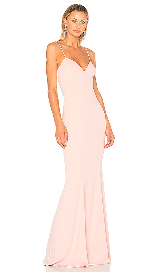 Katie May Luna Gown in Pink